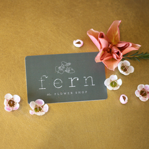Fern the Flower Shop Gift Card