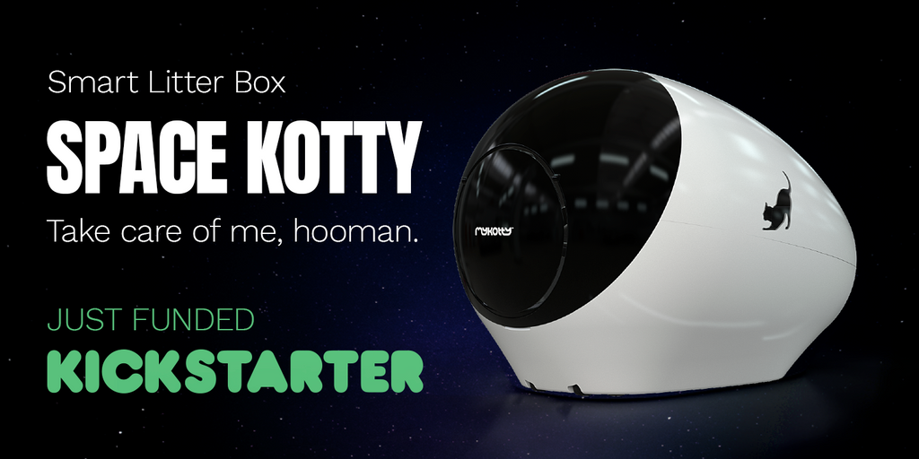 SPACE KOTTY Smart Litter Box Pre-sale on Kickstarter!