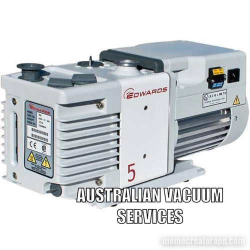 RV5 Edwards vacuum pump