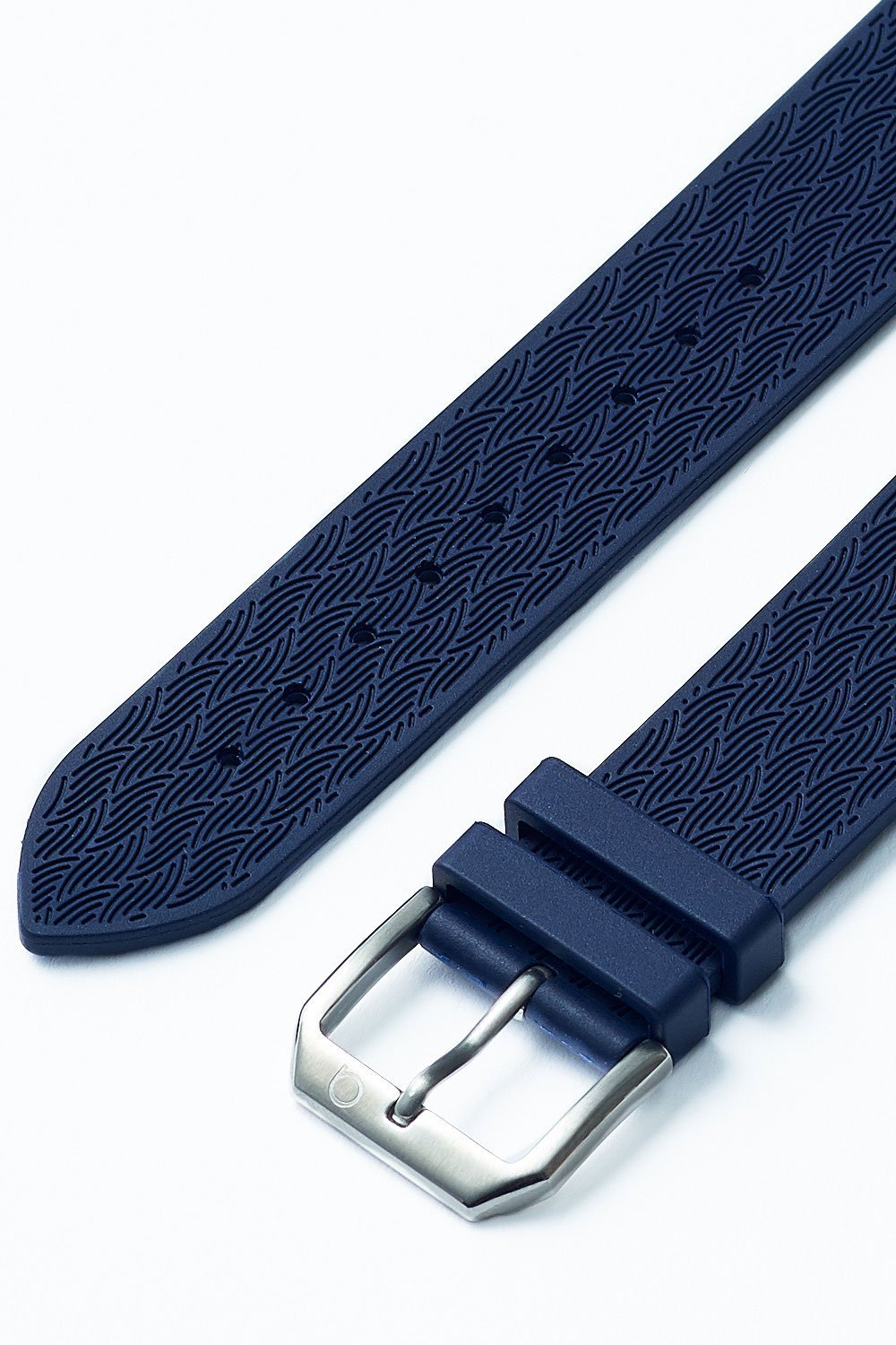 RUBBER STRAP BLUE