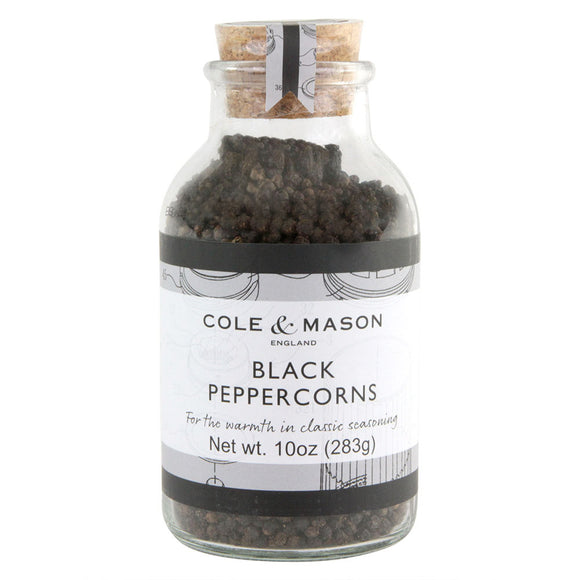 Cole & Mason Black Peppercorns, 10oz