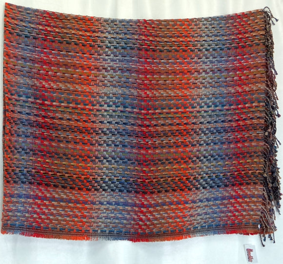 Wool/Modal Throw Blanket (K)