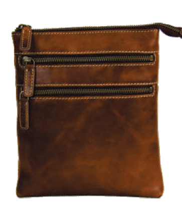 Rugged Earth Leather Purse, Style 199016
