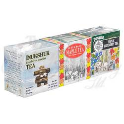Triple Pack: Inukshuk, Maple Blueberry and Maple Teas