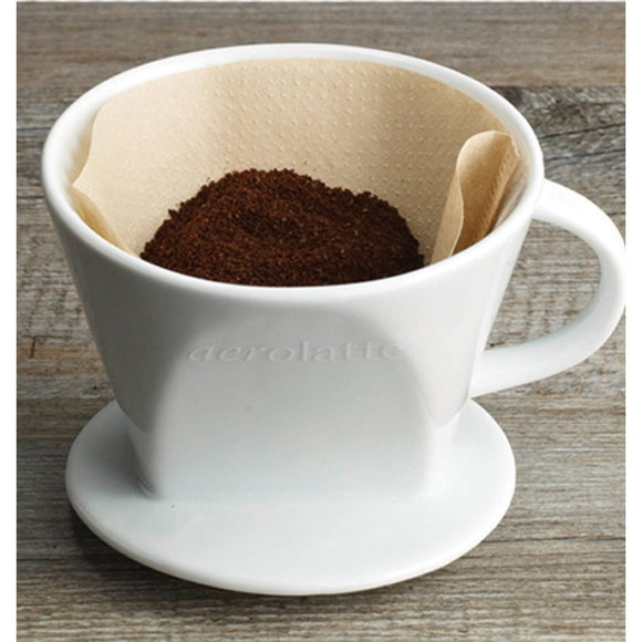 Ceramic Coffee Pour-Over, #4 Filter Size