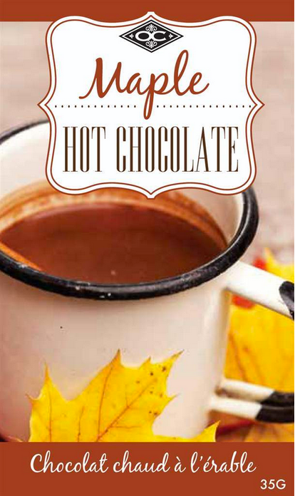 Hot Chocolate, Single Serving - Maple 35g