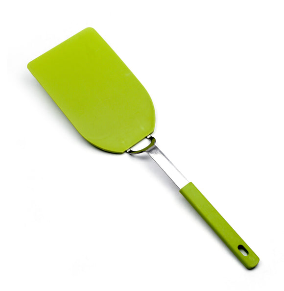 RSVP Flexible Nylon Spatula, Large Green