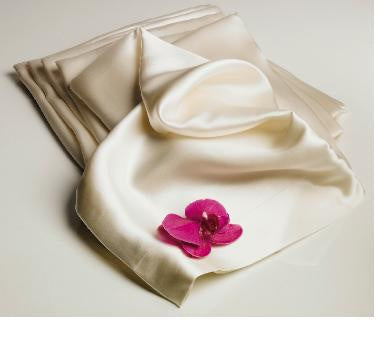 Mulberry Silk Pillowcase Queen, Ivory