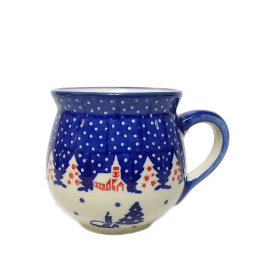 7oz Ladies Mug, Winter Village