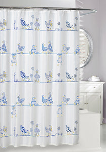 A Duck's Life 'Eco' Shower Curtain, 71x71""