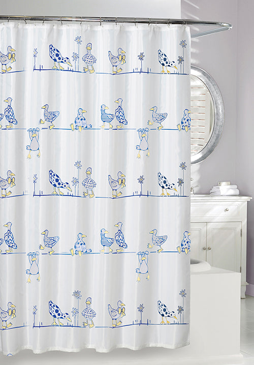 A Duck's Life 'Eco' Shower Curtain, 71x71