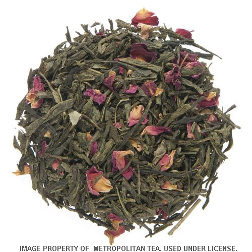 100g Sencha Kyoto Cherry Rose Flavoured Green Tea
