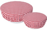 Bowl Cover, Gingham Set of 2 Sizes