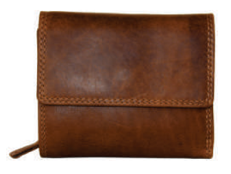 Rugged Earth Leather Wallet, Style 990002