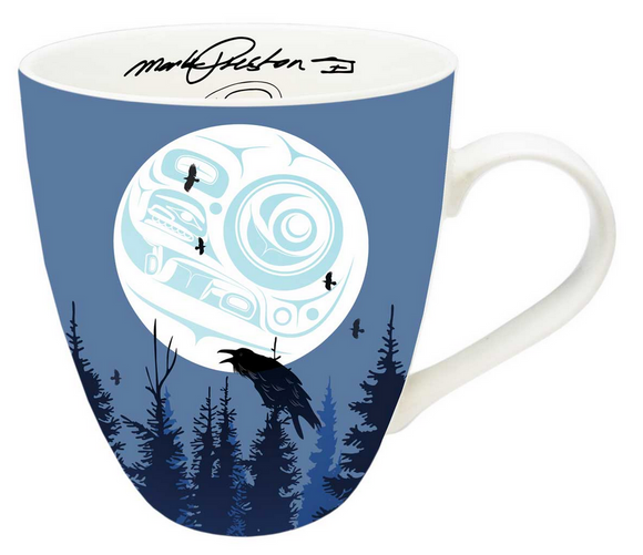 Indigenous Collection Mug, Raven Moon
