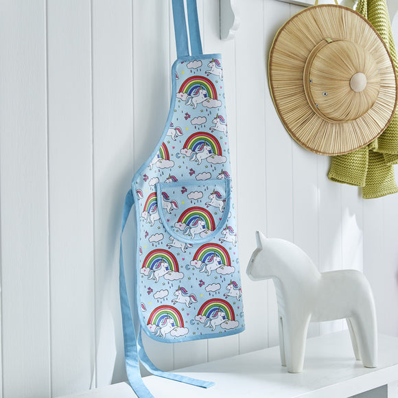 Ulster Weavers UK PVC Kids Apron, Unicorn