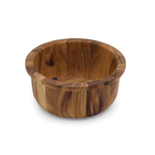 Porto Salad Bowl, Acacia Wood 12.5x5.5