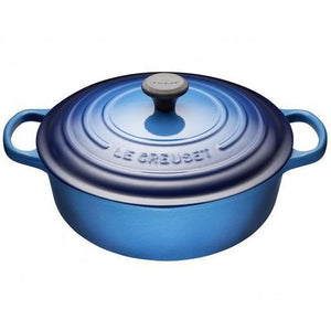 6.2 L Shallow Round French Oven, Blueberry