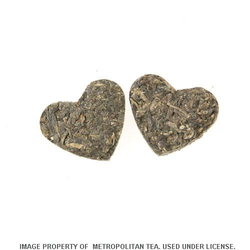 75g, Romeo and Juliet Formed Green Tea Hearts