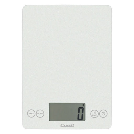 Arti Digital Scale, 15lb/7kg, Metallic Frost White