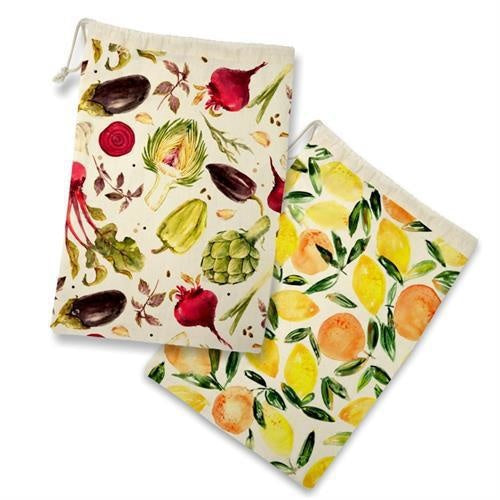 Reusable Produce Bags, 26x38cm, Set/2