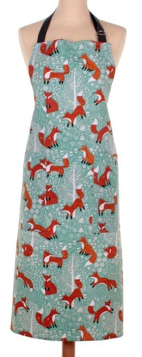 Ulster Weavers UK Cotton Apron, Foraging Fox
