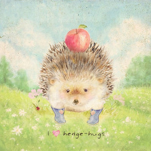 Hedgehugs- Large Art Block