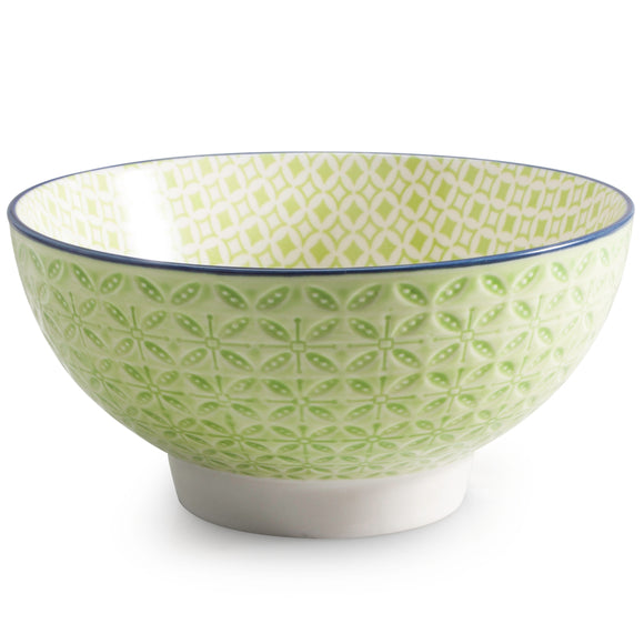 Aster Cereal Bowl, Green 15cm
