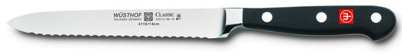 Wusthof Serrated Utility Knife, 5
