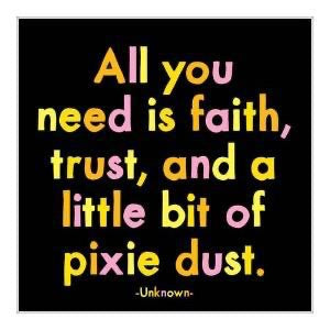 Quotable Magnet - Pixie Dust, MD274