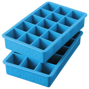 Tovolo Perfect Ice Cube Tray, Set/2 Ice Blue