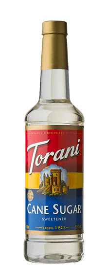 Torani, Cane Sugar Sweetener/Syrup, 750ml