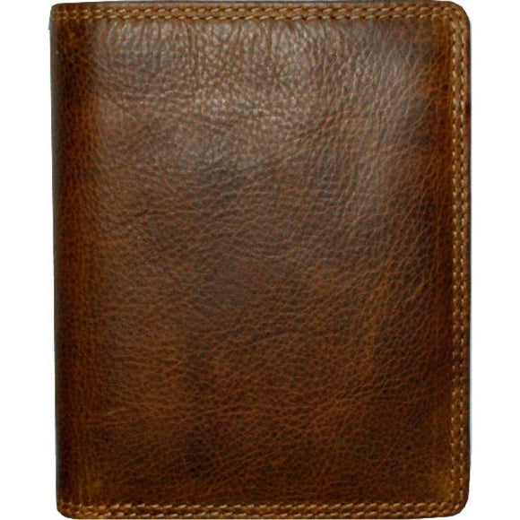 Rugged Earth Leather Wallet, Style 990005
