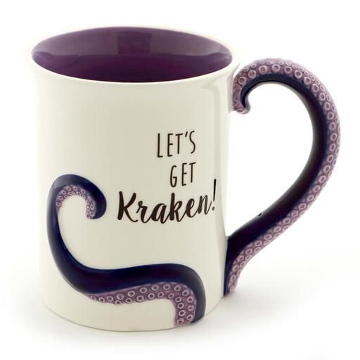 ONIM Mug - Kraken Sculpted 16oz