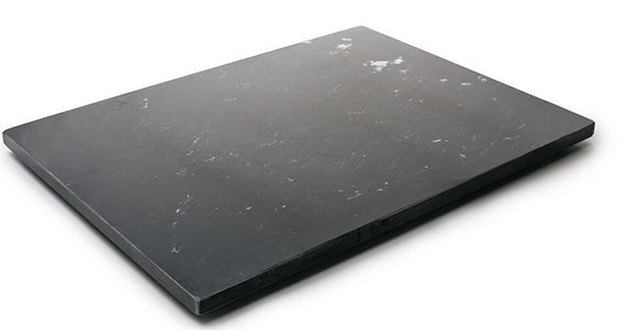 Black Marble Pastry Board, 20x16
