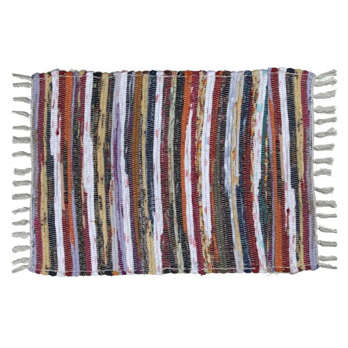 Floor Mat, Cotton/Chindi 24x36