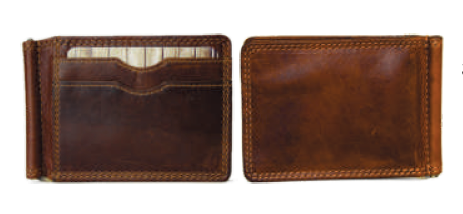 Rugged Earth Money Clip Wallet, Style 990018