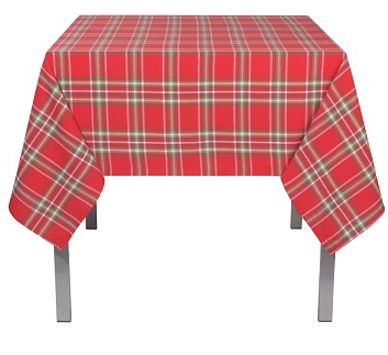 Now Designs Noel Plaid Tablecloth, 60x90