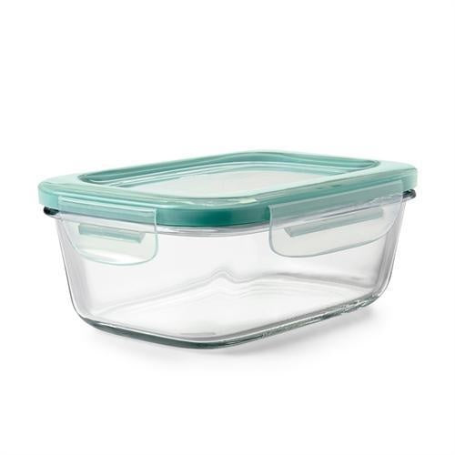 SmartSeal Glass Rectangular Container w/Lid, 3.5cup