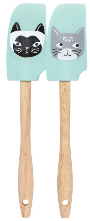 Mini Spatulas Set/2, Cats Meow