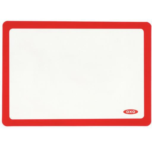 OXO Silicone Baking Mat, Red Trim 11.75x16.5