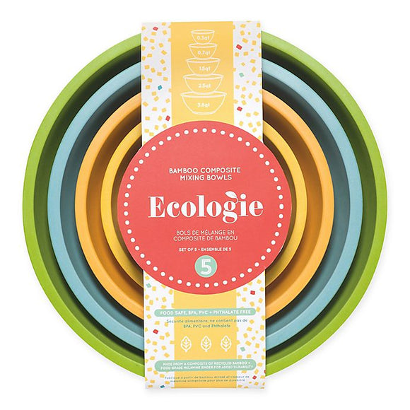 Ecologie Mixing Bowls, Set of 5
