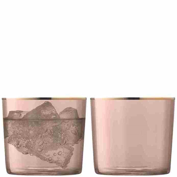 LSA Sorbet Tumblers, Cinnamon Set of 2 10.5oz