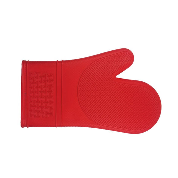Silicone Oven Mitt, Red 30cm/12