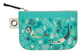 Small Zipper Pouch, Sea Spell
