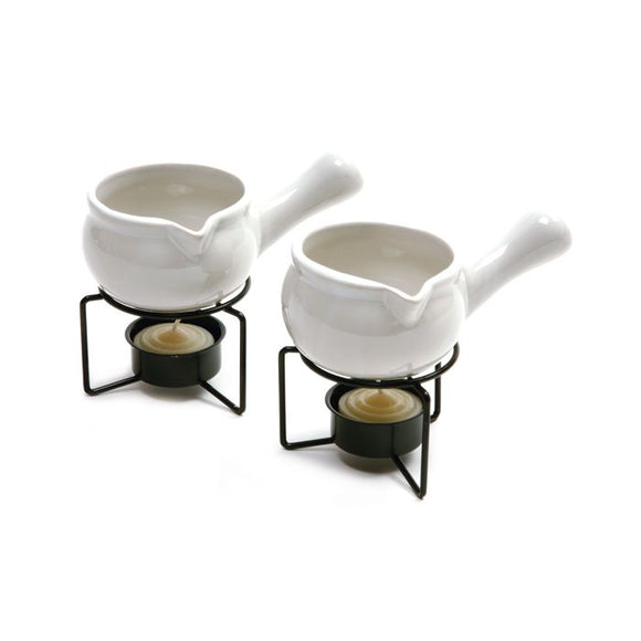 Ceramic Butter Warmers Set of 2