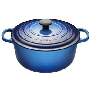 6.7 L Round French Oven, Blueberry