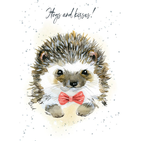BD / Hogs and Kisses Birthday Card