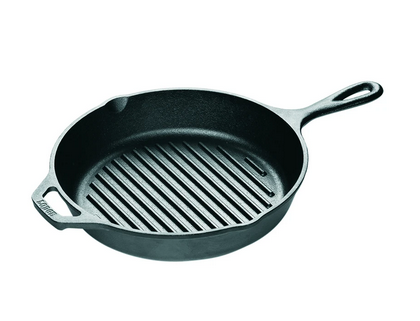 Lodge Dual-Handle Grill Pan, 10.25