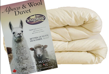 Alpaca Wool Duvet - Regular Weight, Queen